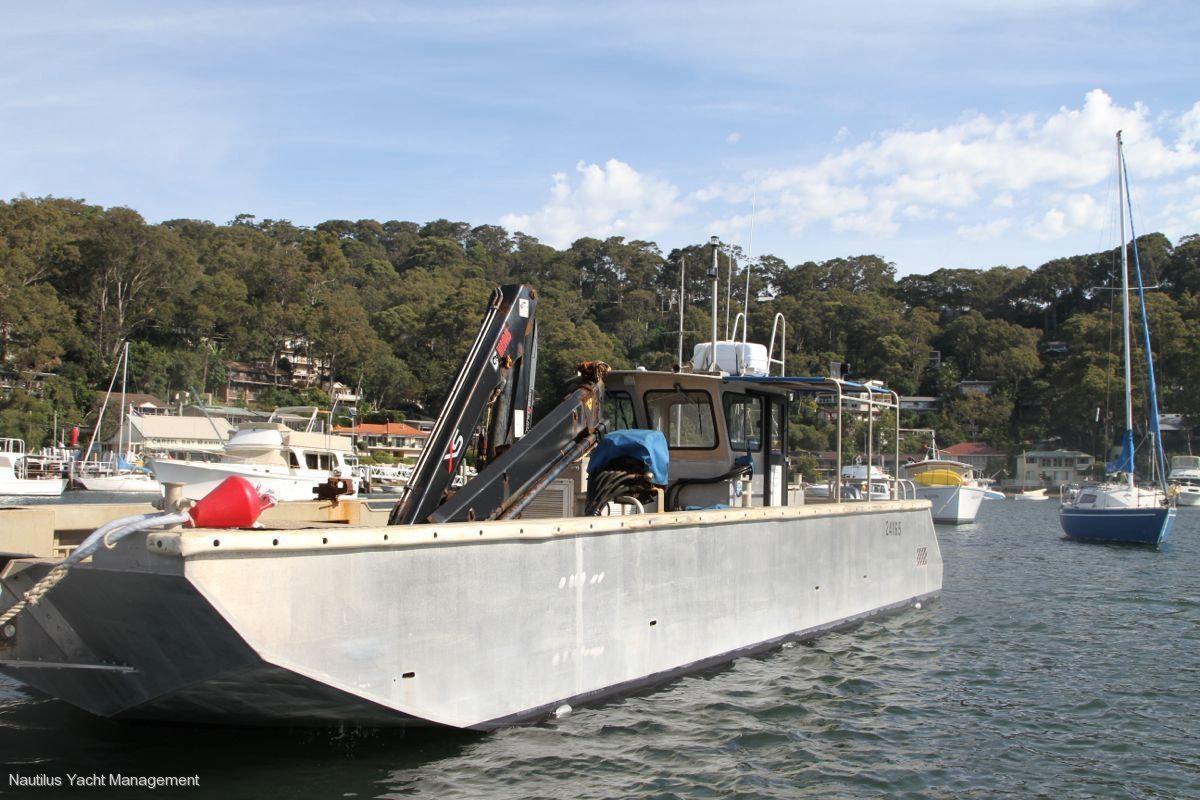 Sydney Harbour Marine Barge