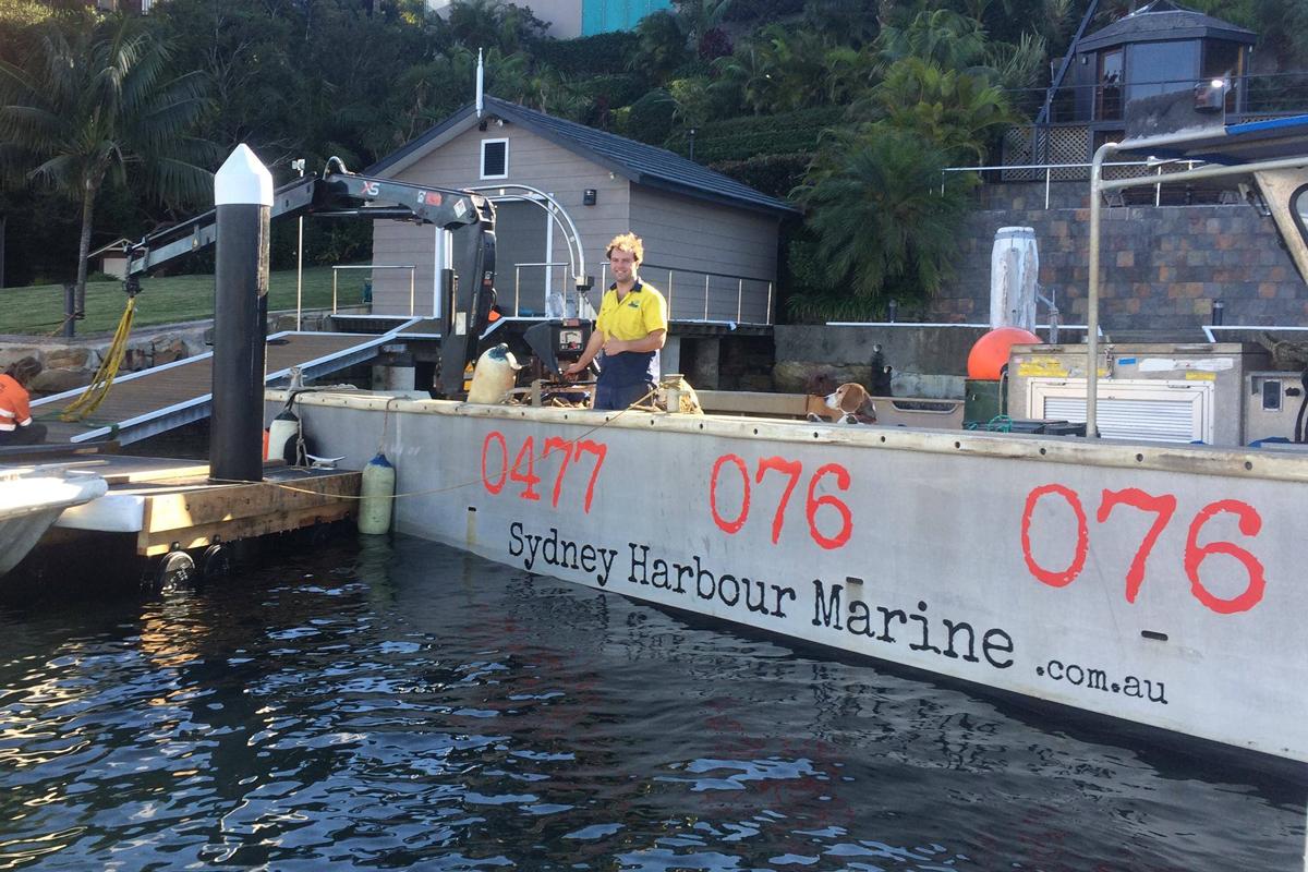 Sydney Harbour Marine Pontoons