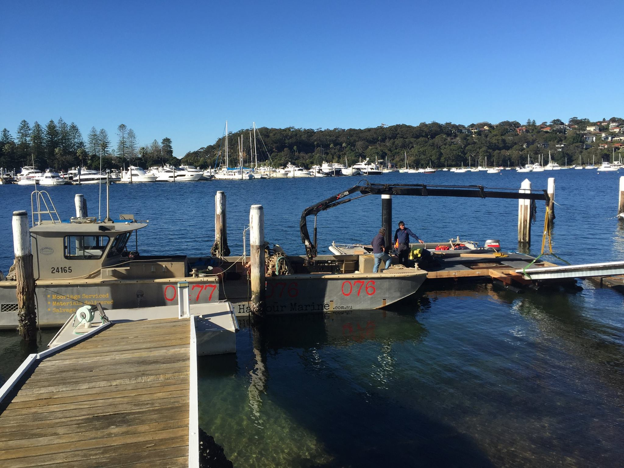 Pontoon maintenance repairs