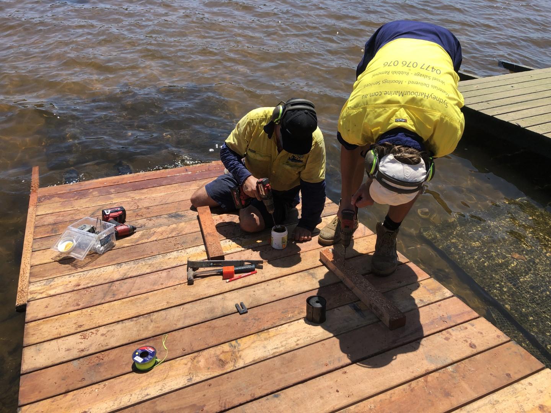 Jetty construction & repairs