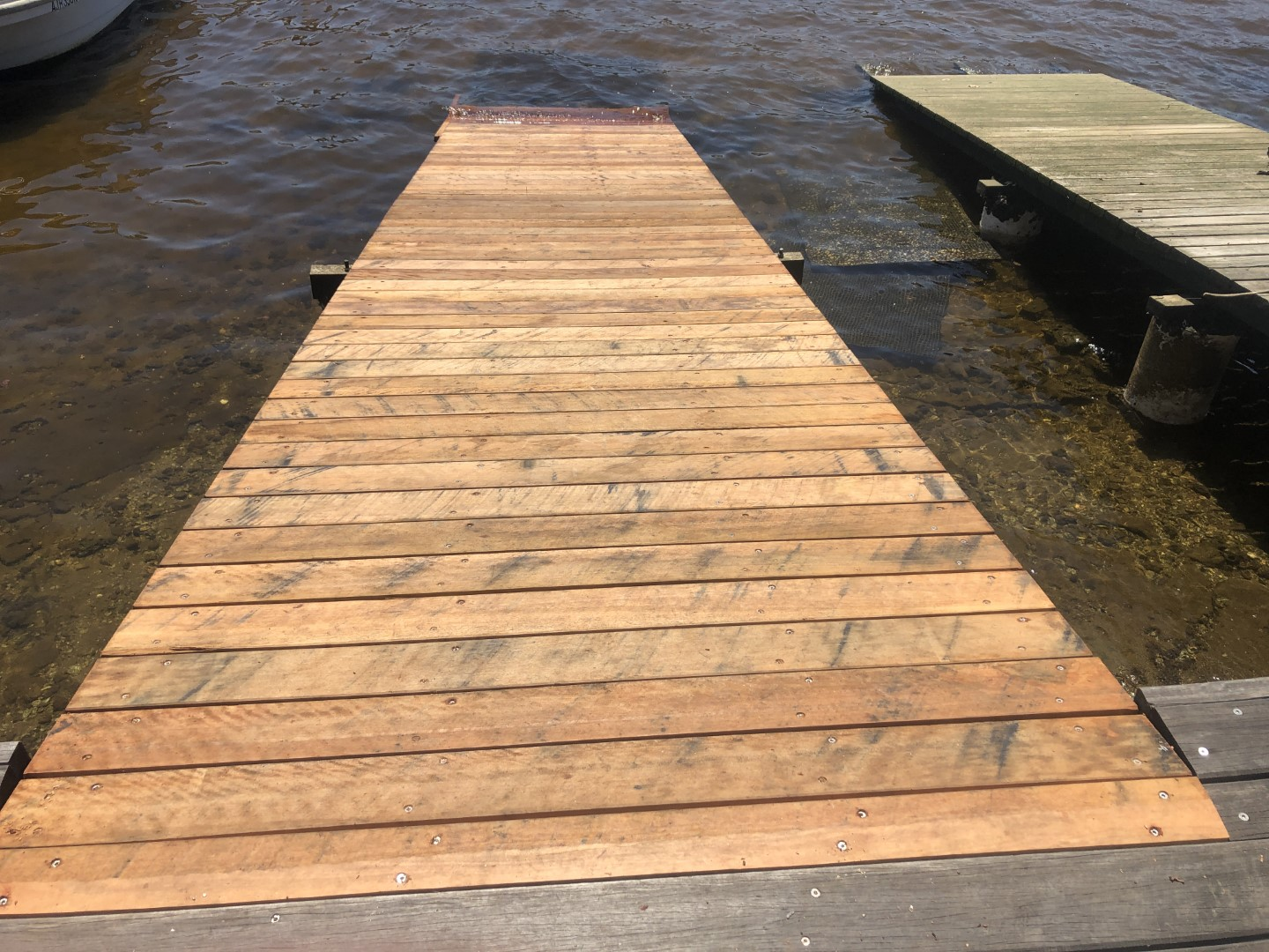 Timber Jetties finished