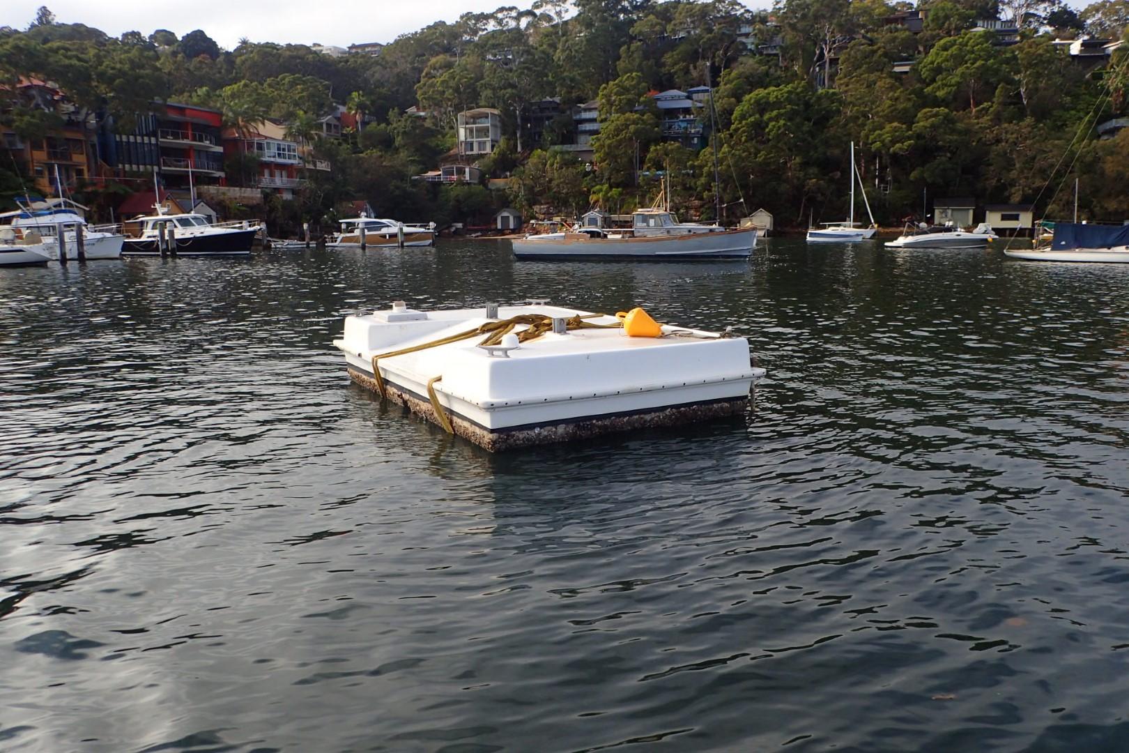 Moulded pontoons