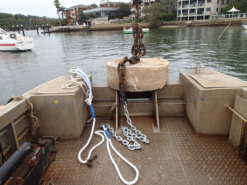 New Mooring setup to be laid